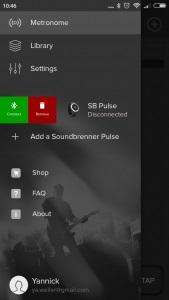 Customizando el Soundbrenner Pulse