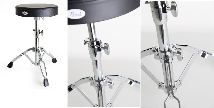 Taburete para batería PEARL - D-790 musicobsession web